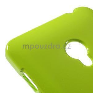 Gélový obal na Asus Zenfone 5 - zelený - 4