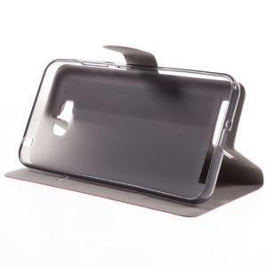 Horse peňaženkové puzdro pre Asus Zenfone Max - rose - 4