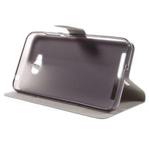 Horse peňaženkové puzdro pre Asus Zenfone Max - modré - 4