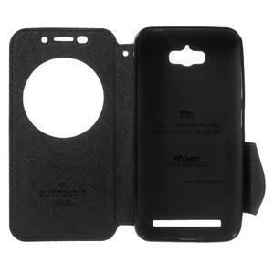 Diary peněženkové pouzdro s okýnkem na Asus Zenfone Max - černé - 4