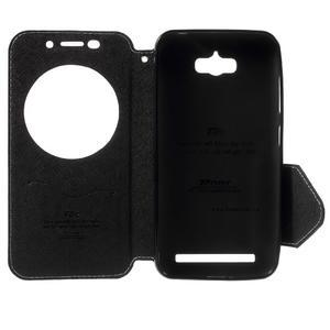 Diary peněženkové pouzdro s okýnkem na Asus Zenfone Max - bílé - 4