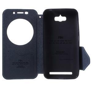 Diary peněženkové pouzdro s okýnkem na Asus Zenfone Max - světlemodré - 4