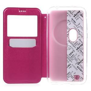 Peňaženkové puzdro s okienkom pre Asus Zenfone Zoom - rose - 4