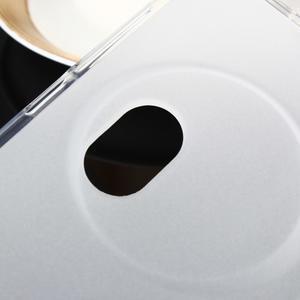 Gélový matný obal pre mobil Asus Zenfone Zoom - biely - 4