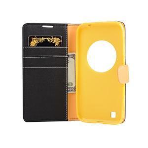 PU kožené puzdro pre Asus Zenfone Zoom - čierné - 4
