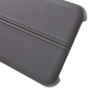 Lines gélové puzdro pre mobil HTC One A9 -  šedé - 4