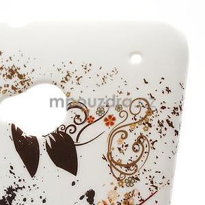 Plastový kryt pre HTC One M7 -  barevní motýľci - 4