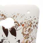 Plastový kryt na HTC One M7 -  barevní motýlci - 4/4