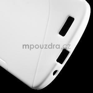 Gélový kryt S-line Huawei Ascend G7 - biely - 4