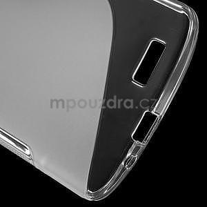 Gélový kryt S-line Huawei Ascend G7 - transparentný - 4