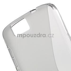 Gélový kryt S-line Huawei Ascend G7 - sivý - 4