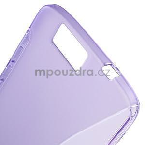 Gélový kryt S-line Huawei Ascend G7 - fialový - 4