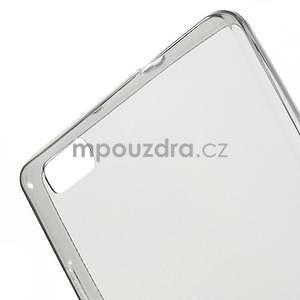 Ultra tenký gelový obal na Huawei Ascend P8 Lite - šedý - 4