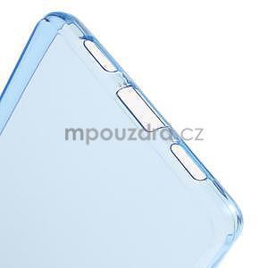 Ultra tenký gelový obal na Huawei Ascend P8 Lite - modrý - 4
