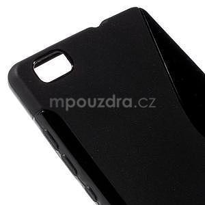 Černý S-line gelový obal na Huawei Ascend P8 Lite - 4