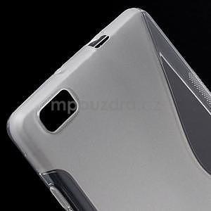 Transparentní S-line gelový obal na Huawei Ascend P8 Lite - 4