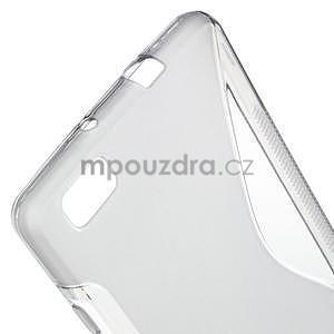 Šedý S-line gelový obal na Huawei Ascend P8 Lite - 4