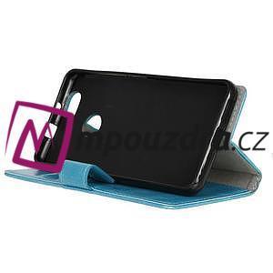 Sean peňaženkové puzdro na mobil Huawei Nova - modré - 4