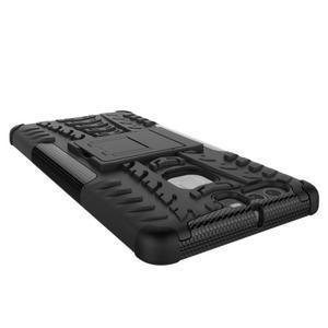 Outdoor ochranný kryt na mobil Huawei P9 - červený - 4