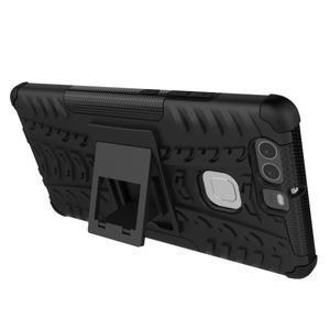Outdoor ochranný kryt na mobil Huawei P9 - oranžové - 4