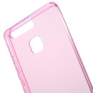 Gelový obal na mobil Huawei P9 - rose - 4