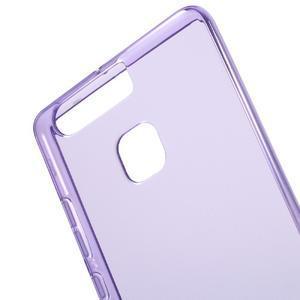 Gelový obal na mobil Huawei P9 - fialový - 4