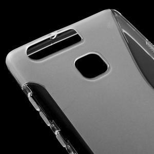 S-line gelový obal na mobil Huawei P9 - transparentní - 4