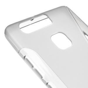 S-line gélový obal pre mobil Huawei P9 - sivý - 4