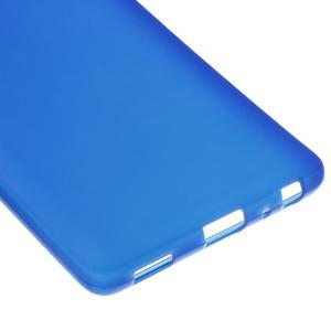 Trend matný gelový obal na mobil Huawei P9 - modrý - 4