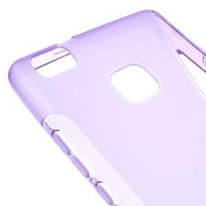 S-line gélový obal pre mobil Huawei P9 Lite - fialový - 4