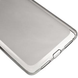 Matný gelový obal na mobil Huawei P9 lite - šedý - 4
