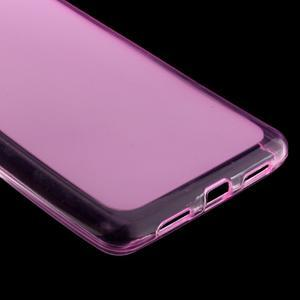 Matný gelový obal na mobil Huawei P9 lite - rose - 4