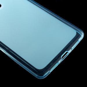 Matný gélový obal pre mobil Huawei P9 lite - modrý - 4