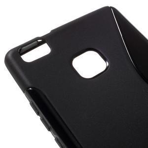 S-line gélový obal pre mobil Huawei P9 Lite - čierny - 4