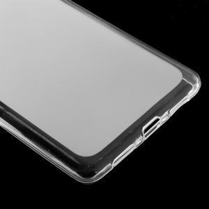 Matný gélový obal pre mobil Huawei P9 lite - transparentné - 4