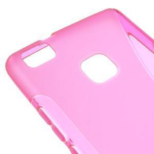 S-line gélový obal pre mobil Huawei P9 Lite - rosa - 4