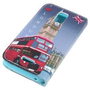 Peněženkové pouzdro na mobil Huawei Y3 a Y360 - Big Ben - 4