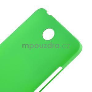 Zelený pogumovaný plastový kryt na Huawei Y635 - 4