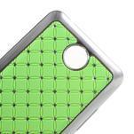 Drahokamový plastový kryt na Huawei Y635 - zelený - 4/5