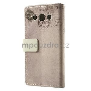 Peňaženkové puzdro pre Samsung Galaxy A3 - americké srdce - 4