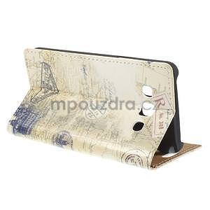 Peňaženkové puzdro na Samsung Galaxy A3 - Šikmá veža - 4