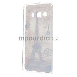 Gélový obal pre Samsung Galaxy A3 - Eiffelova veža - 4
