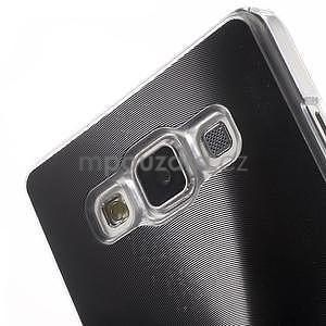 Čierny metalický kryt na Samsung Galaxy A5 - 4
