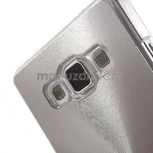Strieborný metalický kryt na Samsung Galaxy A5 - 4