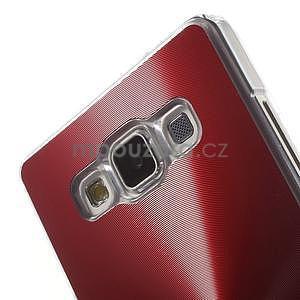 Červený metalický kryt pre Samsung Galaxy A5 - 4