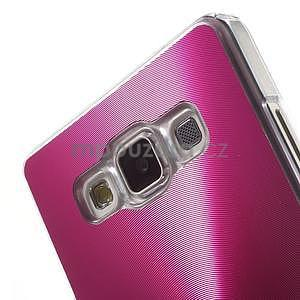 Rose metalický kryt na Samsung Galaxy A5 - 4