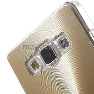 Zlatý metalický kryt pre Samsung Galaxy A5 - 4