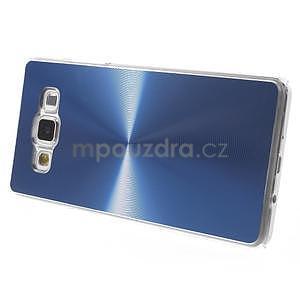 Modrý metalický kryt pre Samsung Galaxy A5 - 4