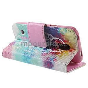 Zapínací peňaženkové puzdro pre Samsung Galaxy S5 mini - snívanie - 4