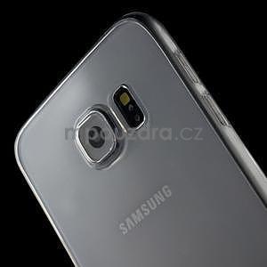 Ultra tenký obal na Samsung Galaxy S6 - transparentný - 4